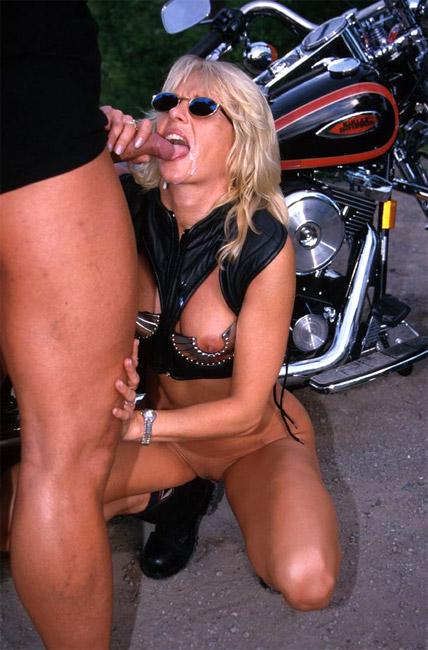 Sexy biker sluts